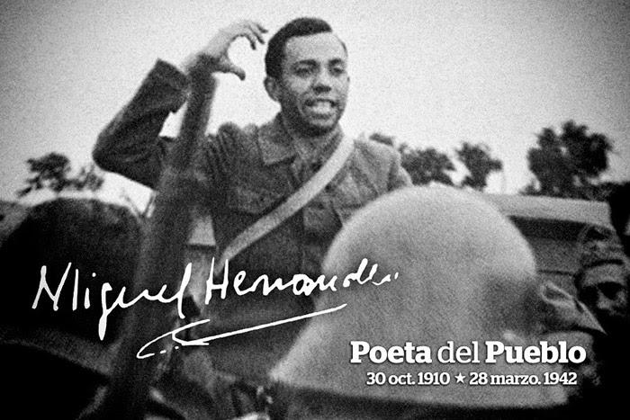 75 ANIVERSARIO DE LA MUERTE DE MIGUEL HERNANDEZ