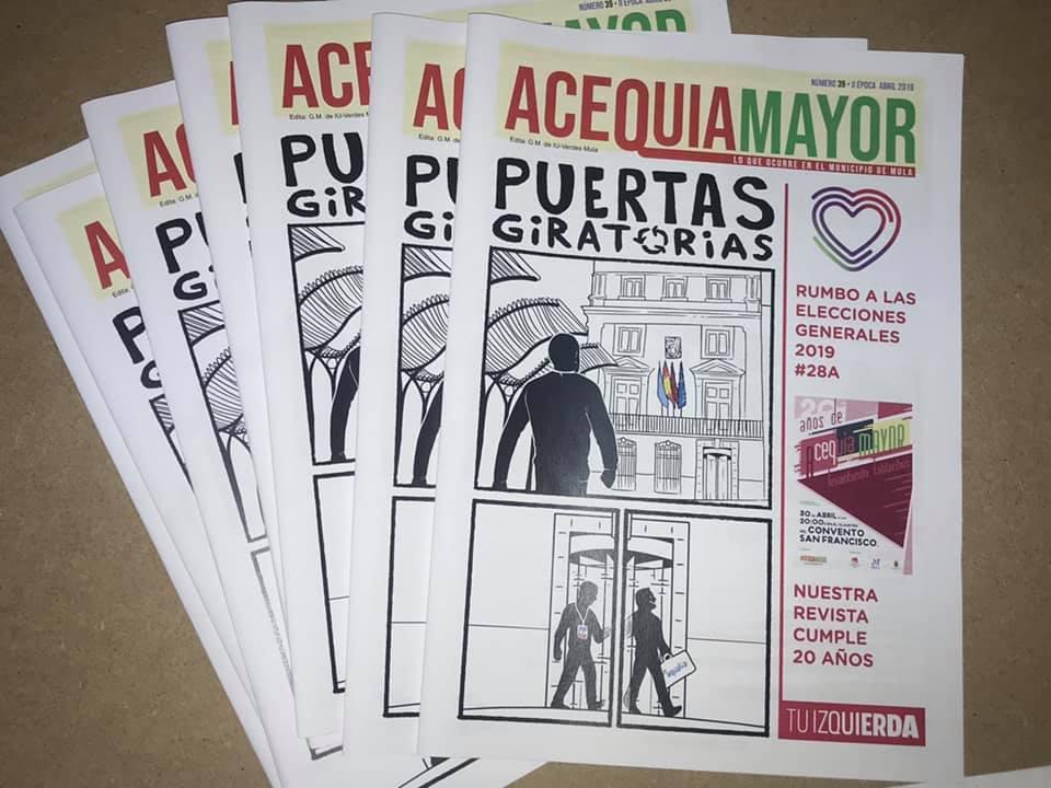 Nueva revista de Acequia Mayor y ya van 39 de la Época II.