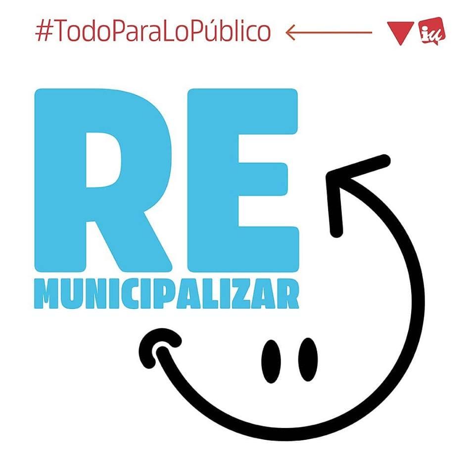  Propuestas de Izquierda Unida en defensa de los servicios públicos municipales #TodoParaLoPúblico 