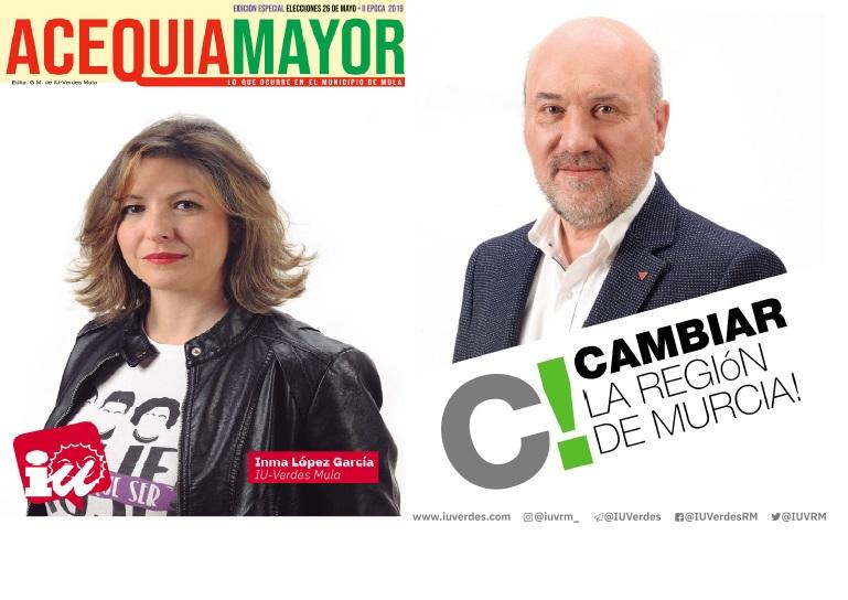 ACEQUIA MAYOR ESPECIAL ELECCIONES 26 MAYO 2019